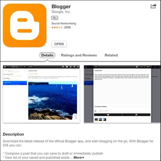 Blogger Mobil