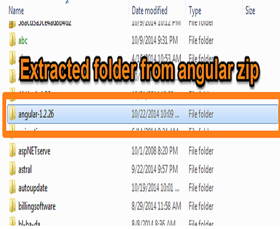 extract-angularjs-folder