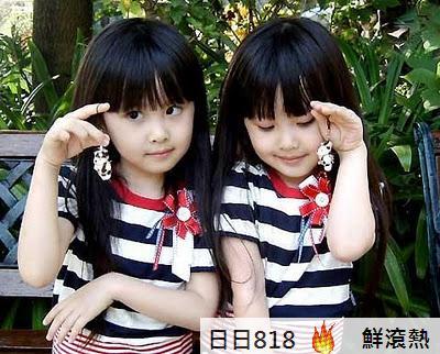 台灣最美雙胞胎 最美天使