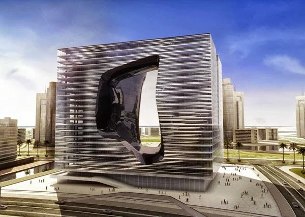 Zaha-Hadid-edificio-de-oficinas-opus-Dubai