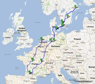 25 days - 6100km