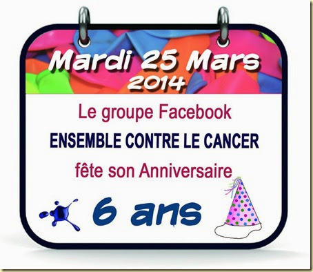 6 ans groupe, 25 mars-14