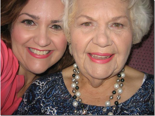 Me and Mom closeup