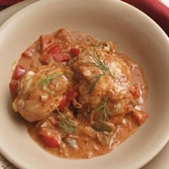 Braised Paprika Chicken