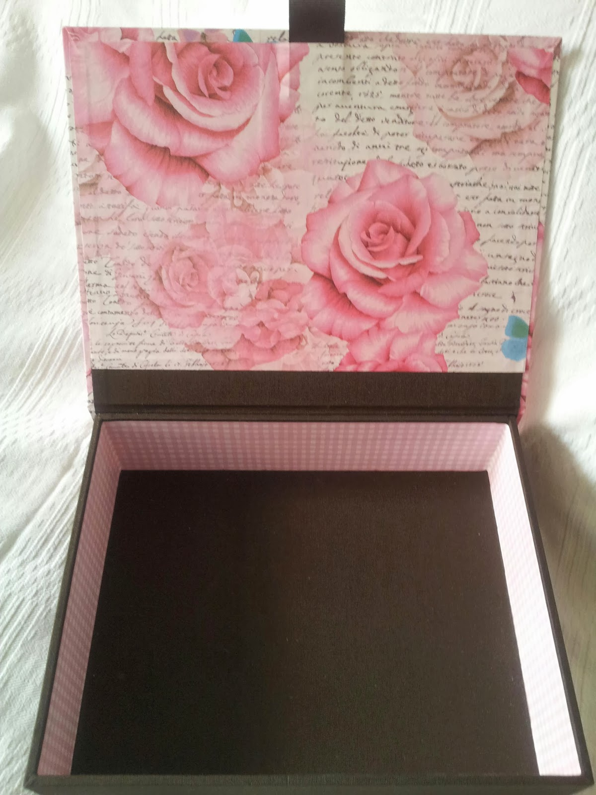 La cajita de rosas y chocolate manualidades - La cajita manualidades ...