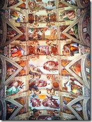plafond sixtine