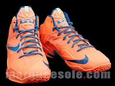 nike lebron 11 gr hardwood knicks 1 03 First Look at Nike LeBron 11 Hardwood Classic / Knicks
