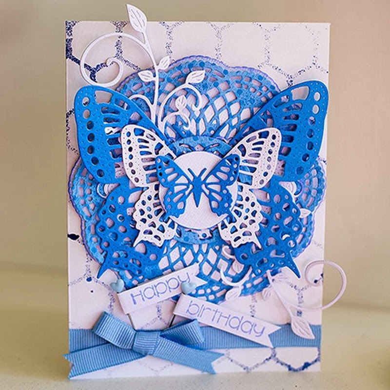 Butterflies and blues by Susan Longman