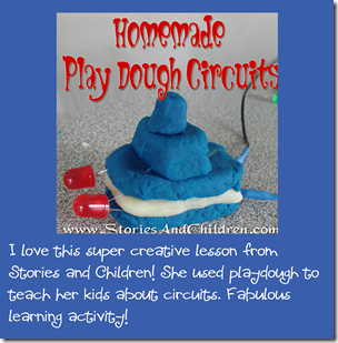 Homeschool Science: Play Dough Circuits