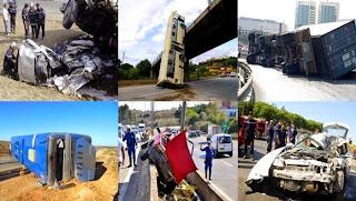 Mise en garde contre la hausse des accidents de la route