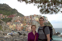 Team Thomas at Manarola