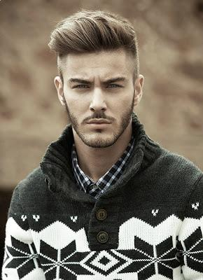 Hot Pompadour Hairstyle For Men