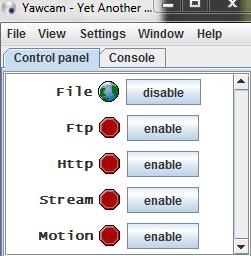 yawcam image file