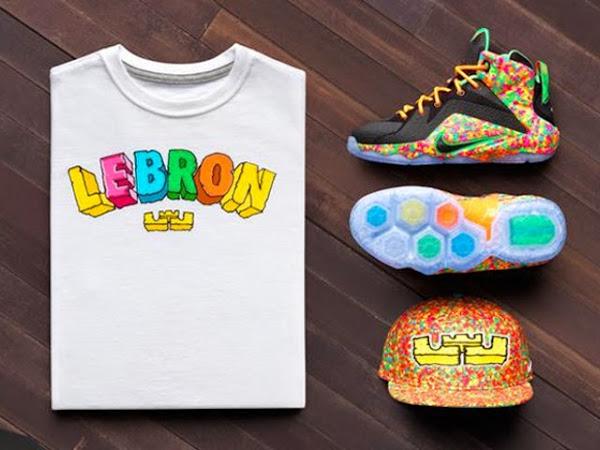 Upcoming Nike LeBron 12 GS 8220Fruity Pebbles8221