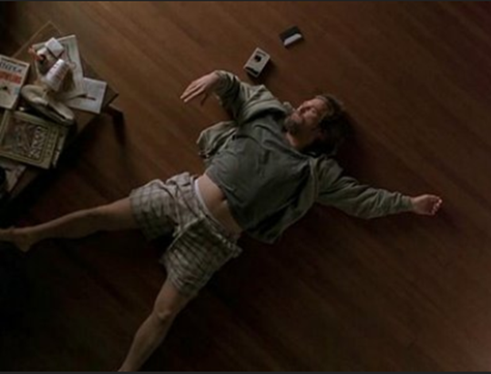 big lebowski on floor