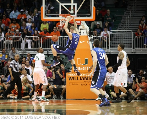 'NCAA BASKETBALL 2011 - FEB 13 - Miami Hurricanes at Duke Blue Devils' photo (c) 2011, LUIS BLANCO - license: http://creativecommons.org/licenses/by/2.0/