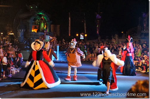 Villains at Disney World