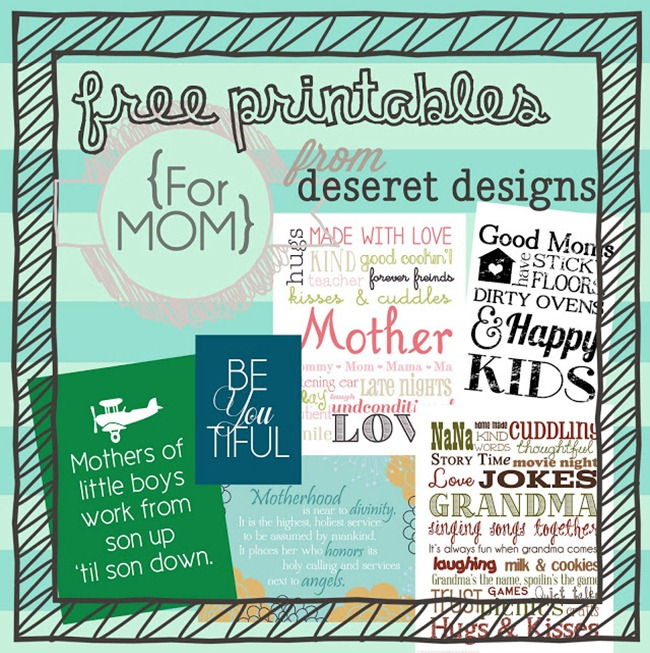 free printables for mom