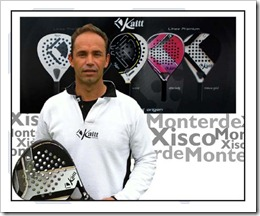 Xisco Monterde ficha por KAITT padel 2012