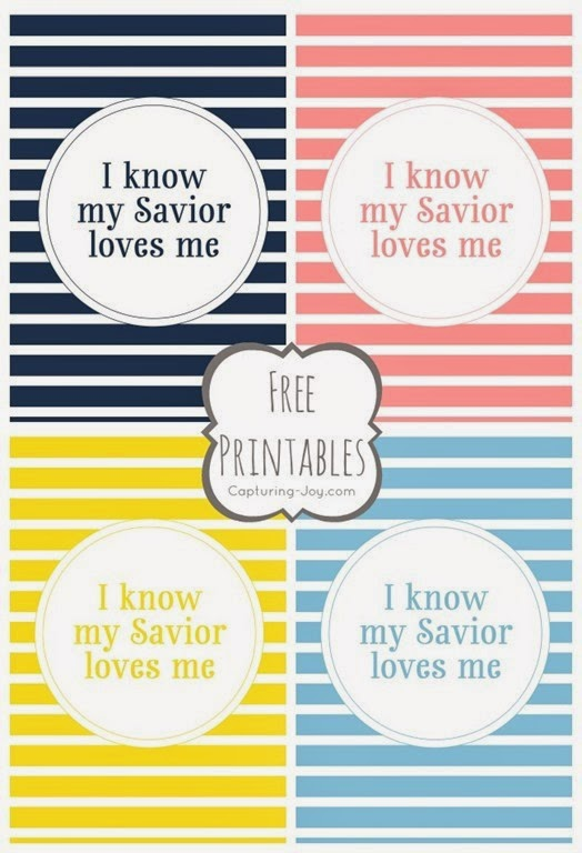 I-know-my-Savior-Loves-me-Free-Printables