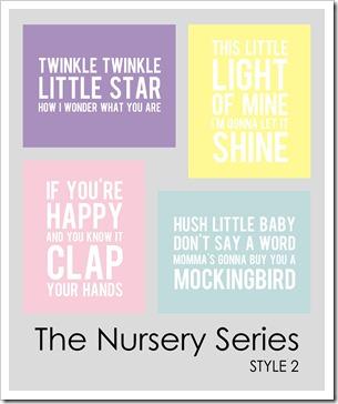 IMAGE - The Nursery Series . Style 2