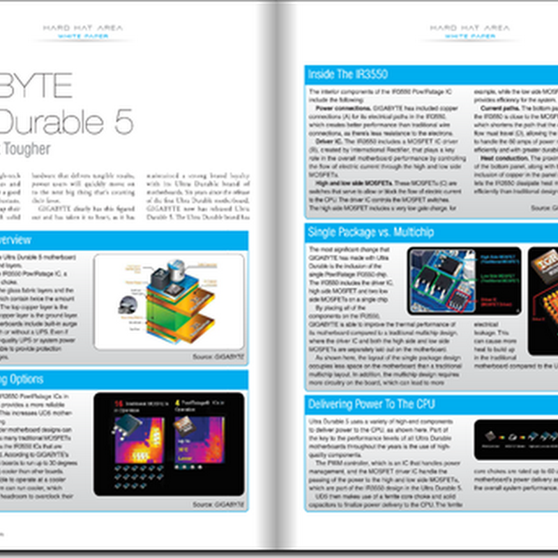 CPU magazine investigates GIGABYTE Ultra Durable 5