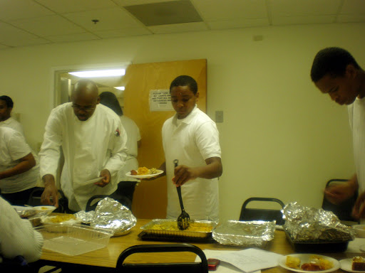 Miles @ his cooking class