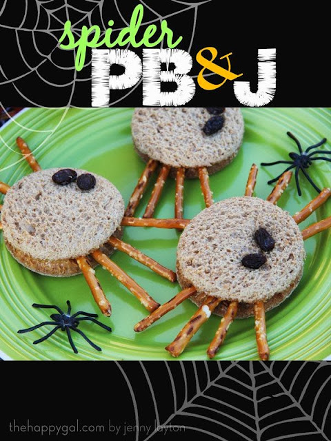 Moments & Memories: Spider Bread for snack