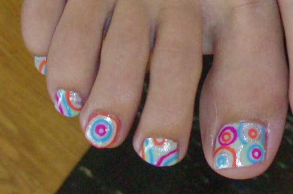 Day63 Pictures Of Toe Nail Designs