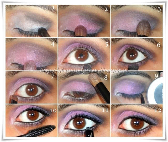Pink Metallic Eyes Pictorial