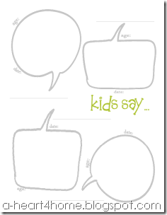 free kids quote printable spring green