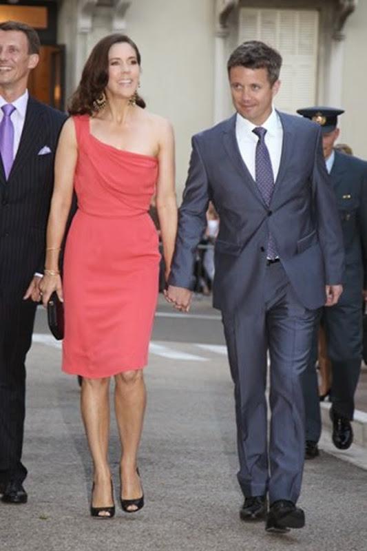 los príncipes de Dinamarca, Federico y Mary Donaldso