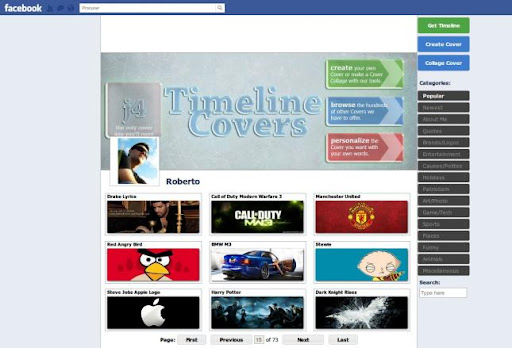 Descargar Timeline Covers gratis