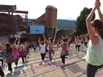 Yoga on the Rocks - Core Power Yoga