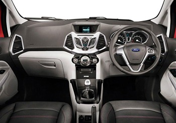 Ford Ecosport Mini SUV dashboard