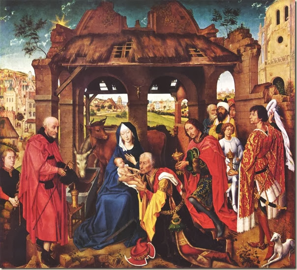 Rogier de la Pasture van der Weyden, Adoration des Mages 1460