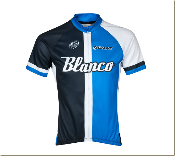 MAILLOT ÉQUIPE BLANCO PRO CYCLING