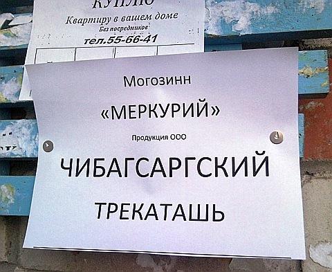 Великий и могучий русский язык...