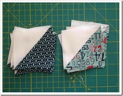 Sawtooth Star Half Square Triangles