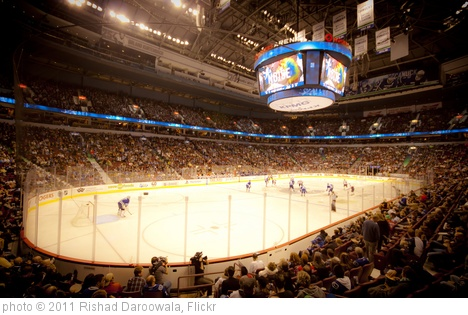 'Vancouver Canucks' photo (c) 2011, Rishad Daroowala - license: http://creativecommons.org/licenses/by-nd/2.0/