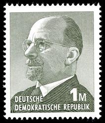 Briefmarke DDR - 1 M - Quelle: Wikipedia