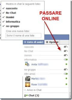 chat di facebook ripristinata