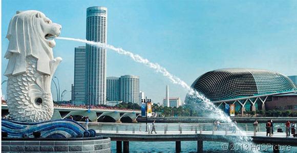 3 pulau besar di Singapura
