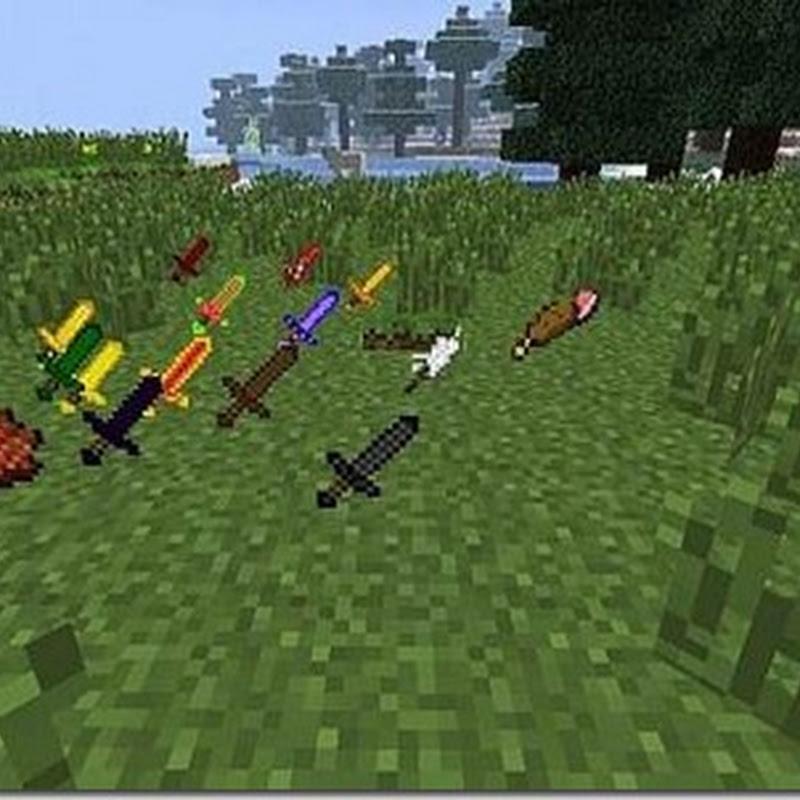 Minecraft 1.3.2 - Mo' Elemental Swords (Armi,Spade)