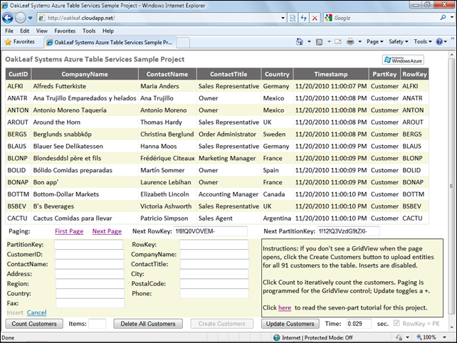 OakLeafSystemsAzureTableServicesSampleProject1024px
