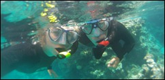 Snorkeling Suwarrow