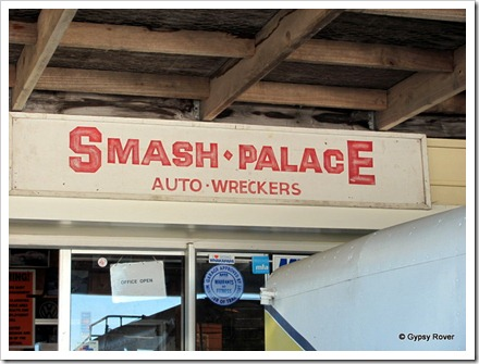 Smash Palace in Horopito.