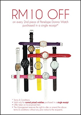 FOS-Rm10-Off-2nd-Piece-Penelope-Donna-Watch-Offer-2011
