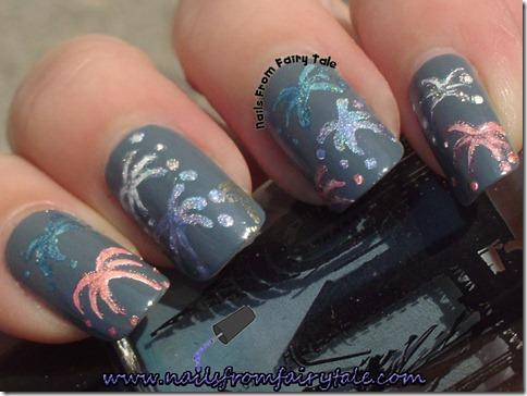 nail art fireworks 4