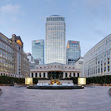 Canary Wharf is the home to some of the United Kingdom's tallest buildings